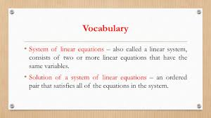 System Of Linear Inequalities Worksheet Systems Of Equations And Inequalities Ppt Video Online Download