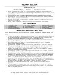 Managers Resume Sample financial manager resume sample