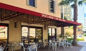 Cafe Awning Custom Commercial Awnings From Thompson Awning