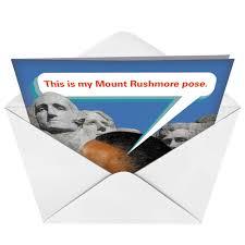 mt rushmorepolitical obama humor birthdaycard
