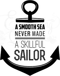 inspirational wall quotes vinyl wall decals nautical quotes smooth sails