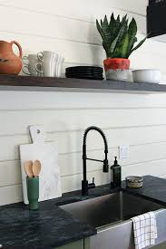 Soapstone Kitchen Countertops by Soapstone Counters Plus Matte Black Faucet Yes But Say No To