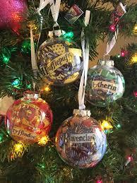 hogwarts house ornaments mad like alyce