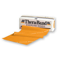 band gold thera band resistance band 5 x18 resistance exercise optp