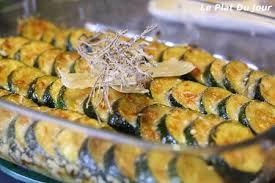 cuisiner des courgettes au four gratin de courgettes au parmesan le plat du jour