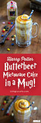 harry potter butterbeer cake in a mug magically microwave it