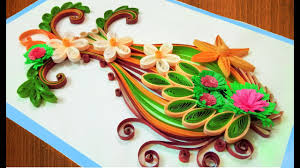 quilling card diy paper quilling birthday greeting card
