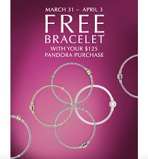 free bracelet images Pandora bracelet event 2016 jpg