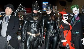 Batman Batgirl Halloween Costumes Batman Cosplay Costume Batman Batgirl Cosplay