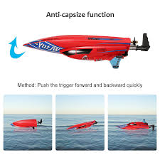 boats u0026 water sports walmart com yallstore rc boat 2 4ghz 4 channels remote control electric racing