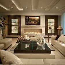 modern contemporary living room ideas fireplace trends contemporary wall tv and blank walls
