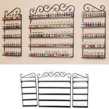 pro halloween 5 tier nail polish rack holds 200 bottles wall