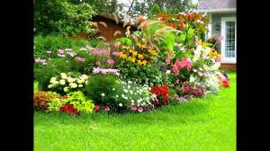 flower garden ideas flower garden ideas for front of house youtube