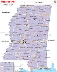 map on road buy mississippi road map