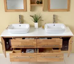badezimmer mit holz badezimmer spiegelschrank aus holz 22 moderne ideen