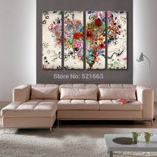 Home Decoration Painting by Online Get Cheap Thick Heart Wall Aliexpress Com Alibaba Group