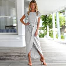 summer dress summer dress high split casual maxi dress