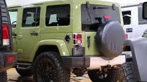 jeep unlimited green 2013 jeep wrangler unlimited freedom edition for sale lifted led