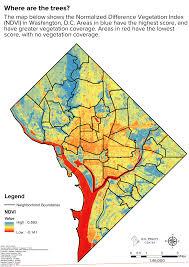 Map Of Washington Dc Neighborhoods by D C U0027s Heat Islands D C Policy Center