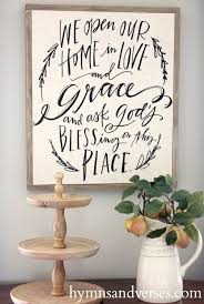 mary martha home decor diy wood frame for an artist canvas hymns and verses