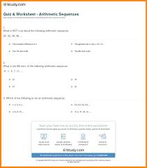 5 arithmetic sequence worksheets nurse resumed