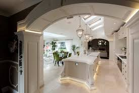 Can Lights For Vaulted Ceilings by Atrium Lighting Ideas Kitchen Traditional With Recessed Lights