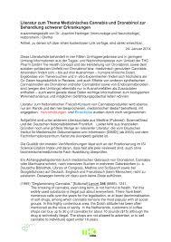 literatur zu medizinischem cannabis pdf download available