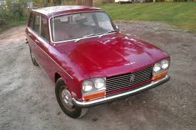 peugeot little car little red wagon 1971 peugeot 304 wagon