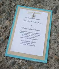 wedding invitation blue mot yaseen