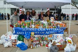 food donations for veterans exceed expectations oh a
