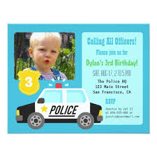 popular 25 police birthday party invitations popular invitation