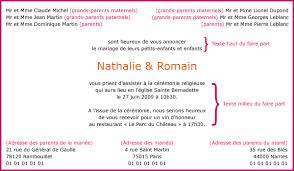 carte mariage texte modele faire part de mariage modèle de lettre