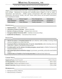 Sample New Grad Nurse Resume by Sample New Grad Rn Resume Resume For Your Job Application