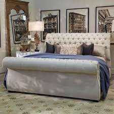 King Tufted Headboards Luxury Tufted Upholstered Headboard And Footboard 71 In King Size