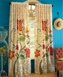 Colorful Patterned Curtains Transform A Room With Curtains New S Destination