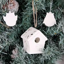 bisque christmas tree christmas lights decoration