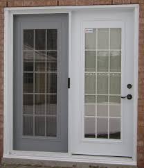 exterior doors with built in blinds front door blinds