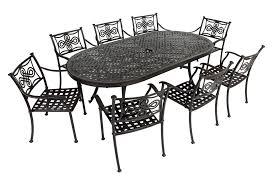 Patio Furniture Metal - black cast aluminum patio furniture uk icamblog
