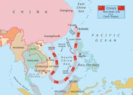 South China Sea Map China A Free Hand In The South China Sea The Globalist