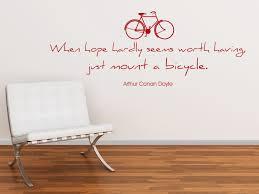 sprüche fahrrad wandtattoo das leben ist wie ein fahrrad zitat albert einstein
