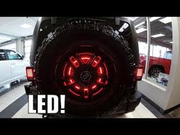 3rd brake light led ring led 3rd brake light ring 2018 jeep wrangler jk youtube