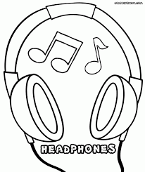 Listening Ears Coloring Page Murderthestout Ear Coloring Page