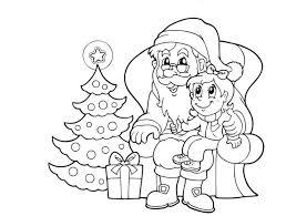 santa coloring pages coloringsuite