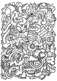 abstract mandala coloring pages adults coloringstar