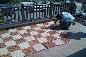 outdoor patio wood flooring smashingplates us