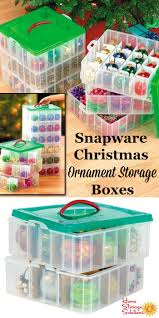 Plastic Wreath Storage Containers Snapware Christmas Ornament Storage Boxes Make Organizing A Snap