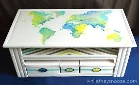 Map Coffee Table While They Snooze Diy Map Table Tutorial