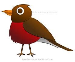 draw cartoon robin