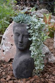 21 best head planters images on pinterest head planters garden
