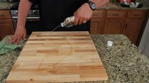 Boos Block Cutting Board How To Oil Treat Your Cutting Board U0026 More Youtube